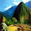 Pintura de Machu-Pichu
