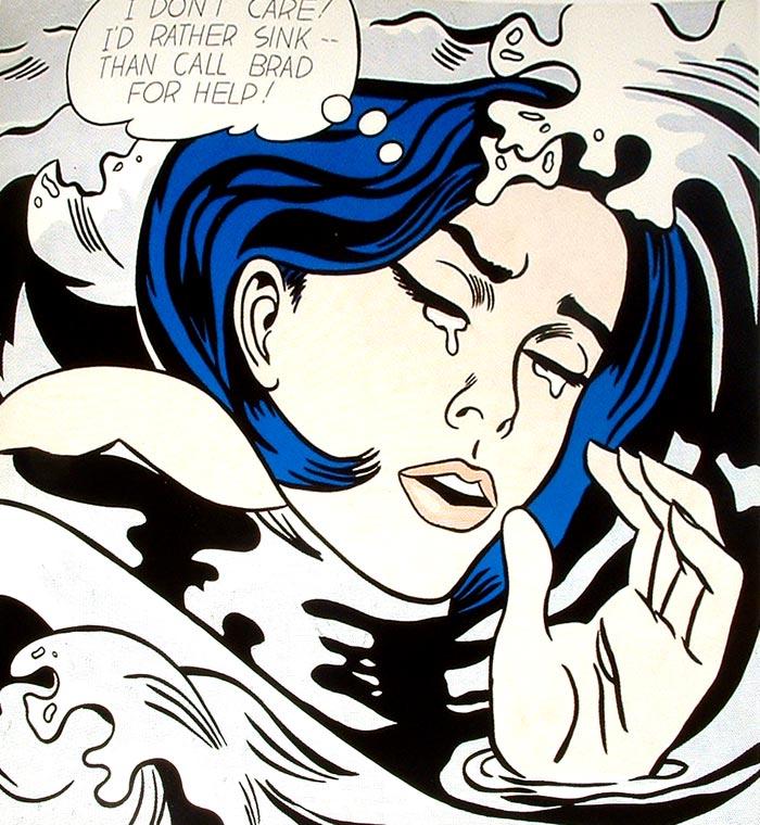 Estilo cómic de Lichtenstein | Pintura y Artistas