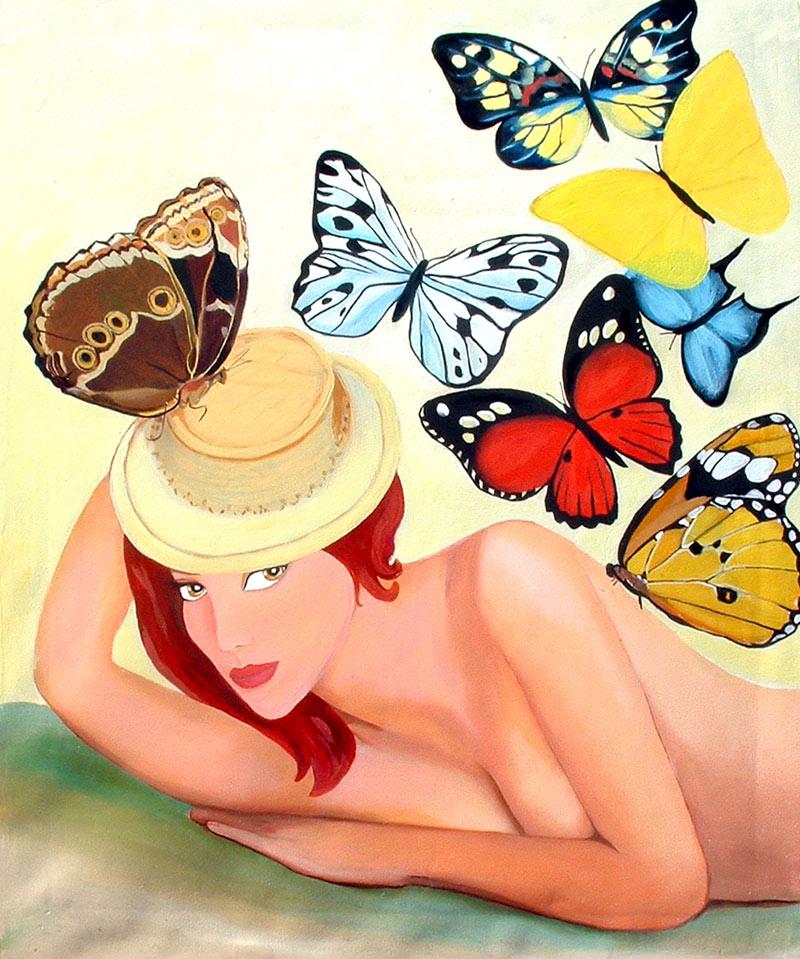 Pintura Mariposas