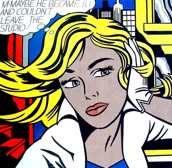 Maybe de Roy Lichenstein