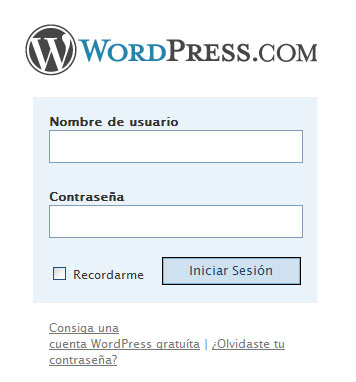 wp-admin wordpress