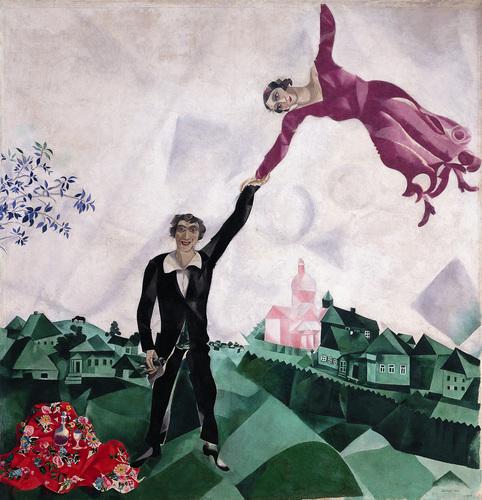 Chagall enamorado
