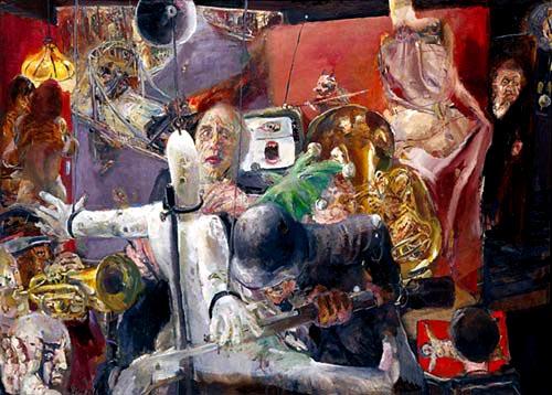 Pintura odio. Bernhard Heisig