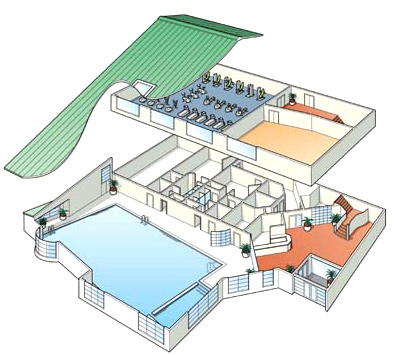 Dibujo tecnico plano de una casa for Plano de planta dibujo tecnico