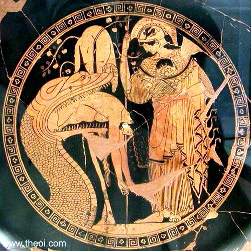 Dragón en la mitología griega