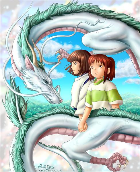 Dragón en El viaje de Chihiro
