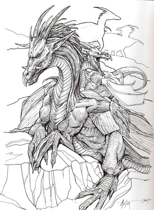 Pintar dragones - Pintura y Artistas | Pintura y Artistas