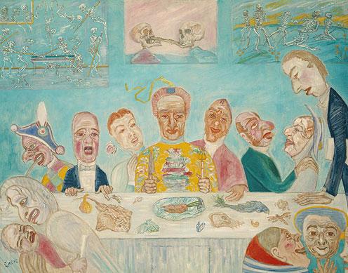 Banquete del hambre - Ensor