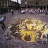 Grafiti en el suelo