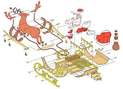 Explicación de Papa Noel