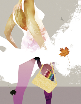 Richard May - ilustración moda