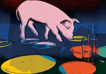 Pig Fiesta - Andy Warhol
