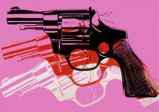 Warhol - Pistola / Gun