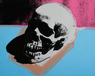 Warhol- Skull / calabera