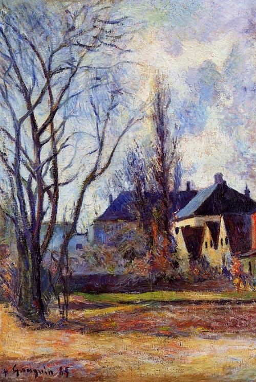 Gauguin, invierno