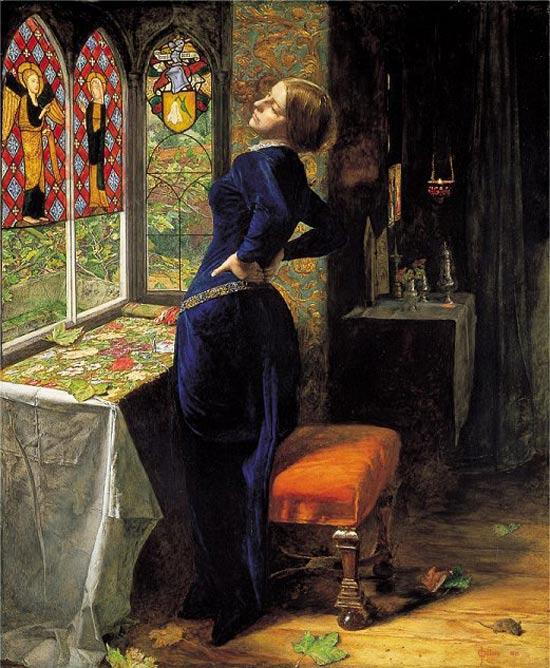 Mariana, de Millais