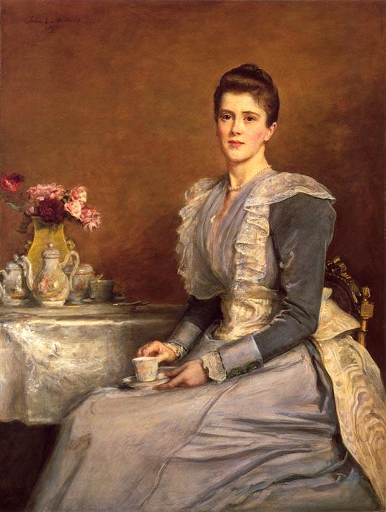 Mary Chamberlain, de Millais