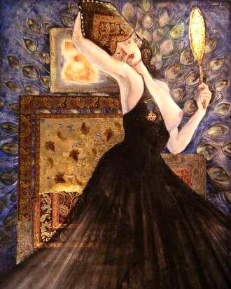 Las apariencia, pintura de Ana Roldan