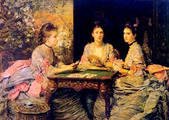 Corazones son triunfos, de Millais