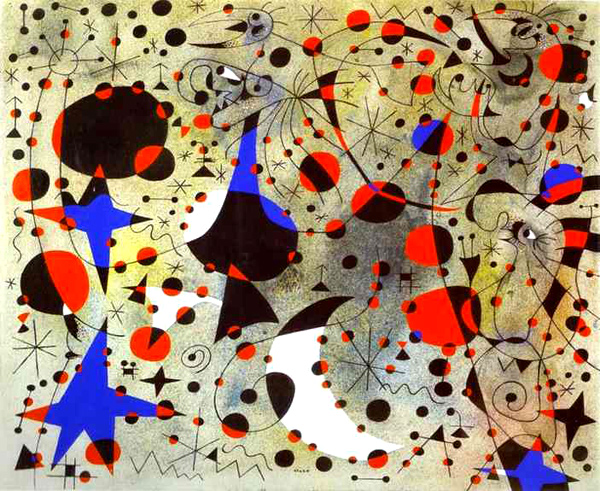Miró mundo caos
