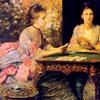Pintar vestidos clásicos y prerrafaelistas