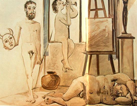 3 edades del hombre - Picasso