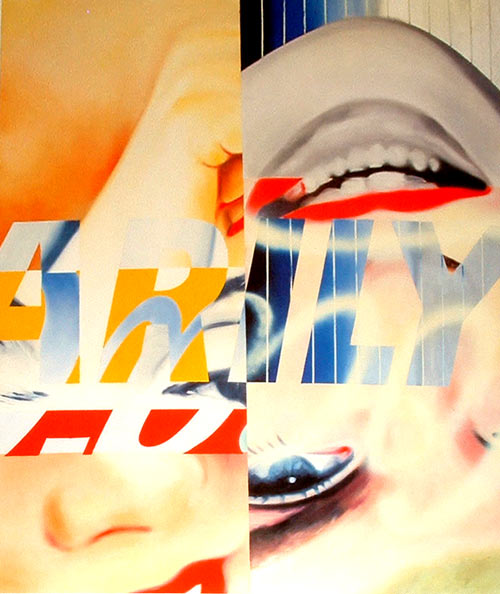 James Rosenquist - Marilin