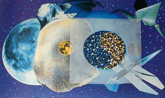 James Rosenquist - lune