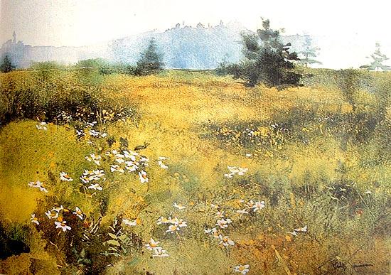 Niebla, , Acuarela de Philip Jamison