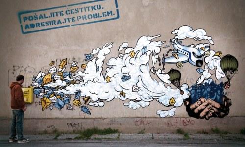 Grafiti en la ciudad