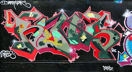Graffiti tipográfico