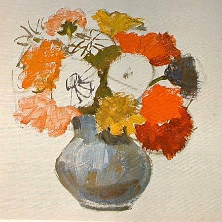 Pintar un jarr n con flores pintura y artistas - Fotos jarrones con flores ...