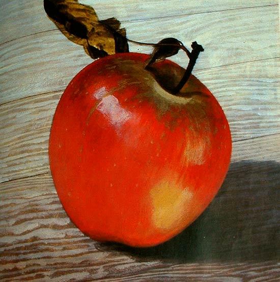 Modelar una manzana