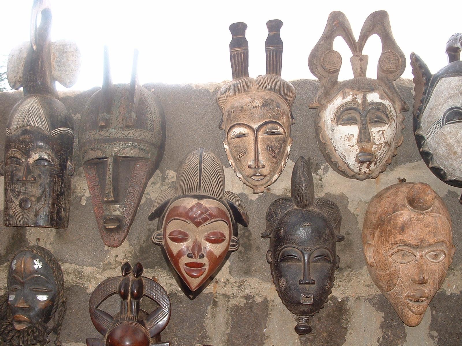 Maskaras africanas