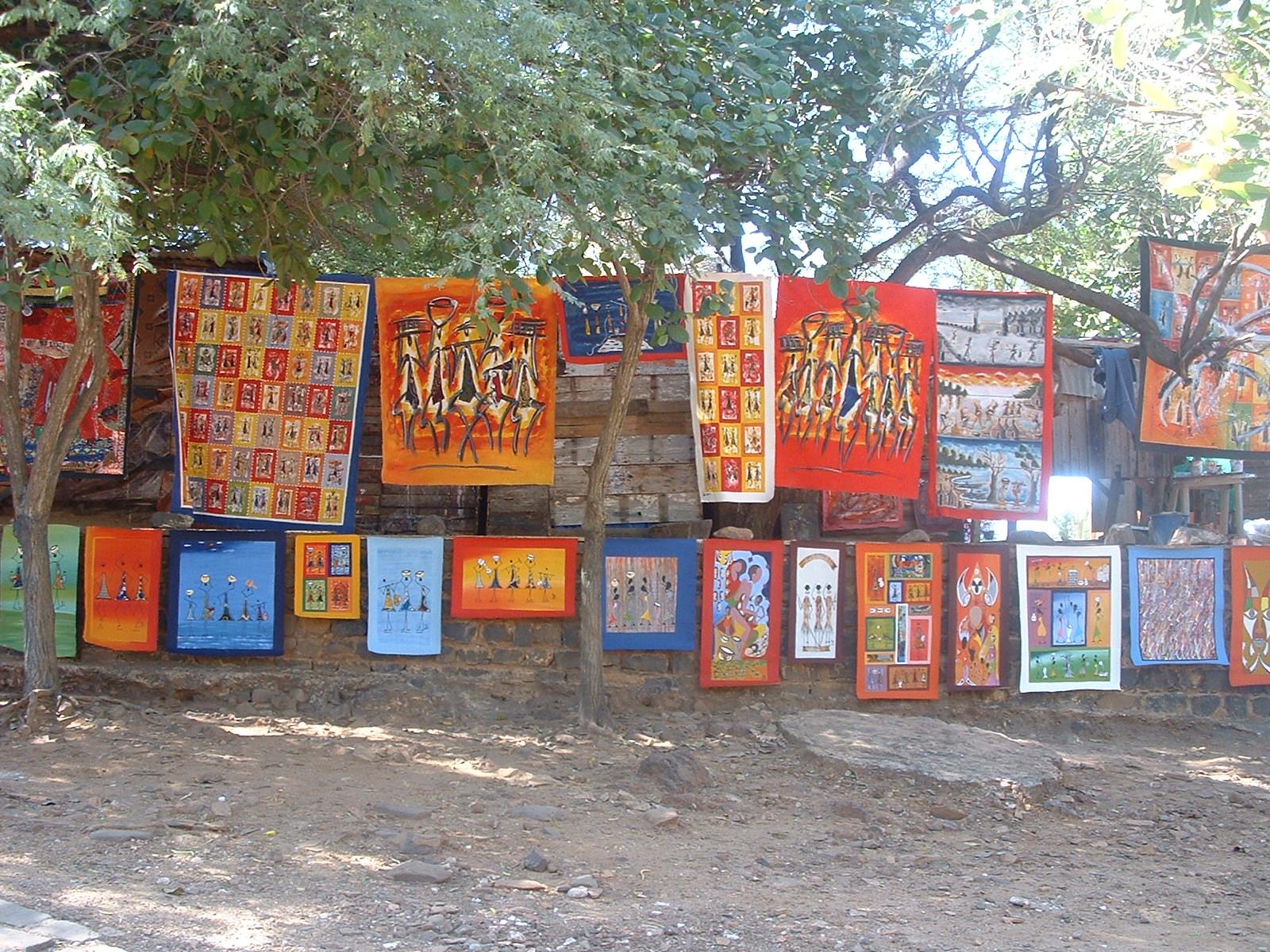 Venta de pinturas en Senegal