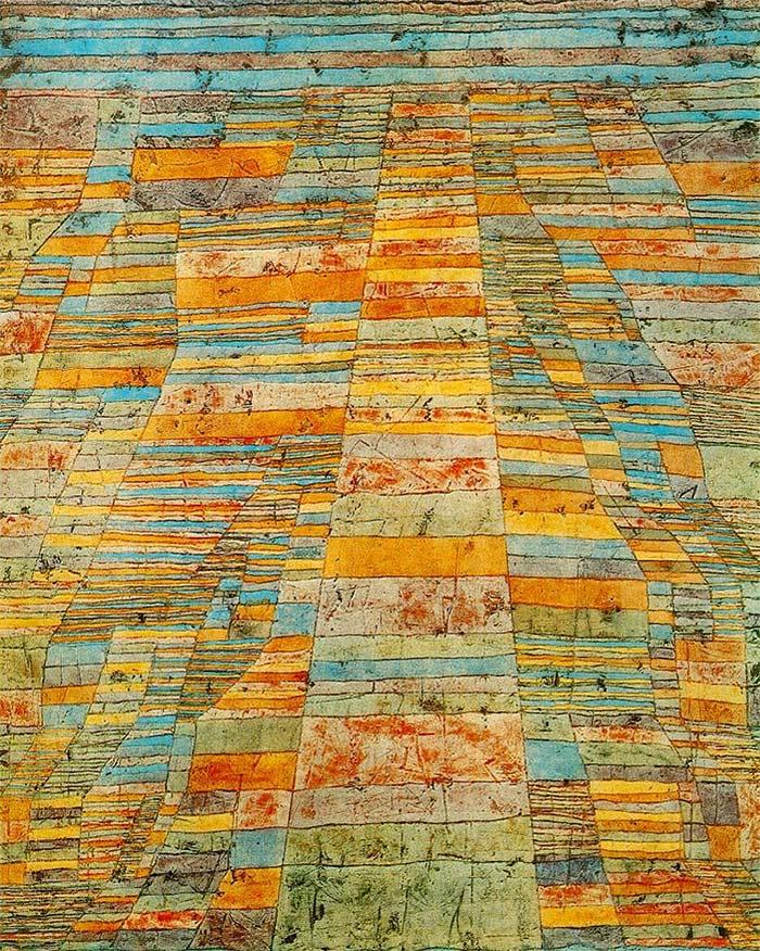 Paul Klee - metrópolis