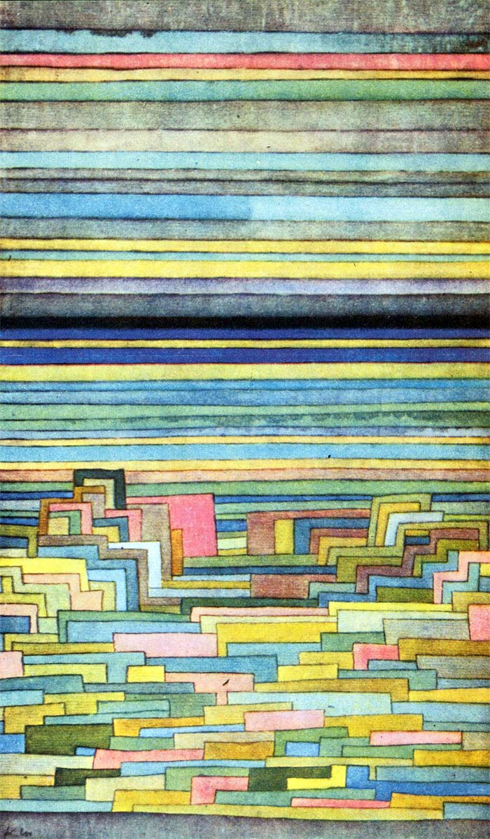 Paul Klee - Lagoon city