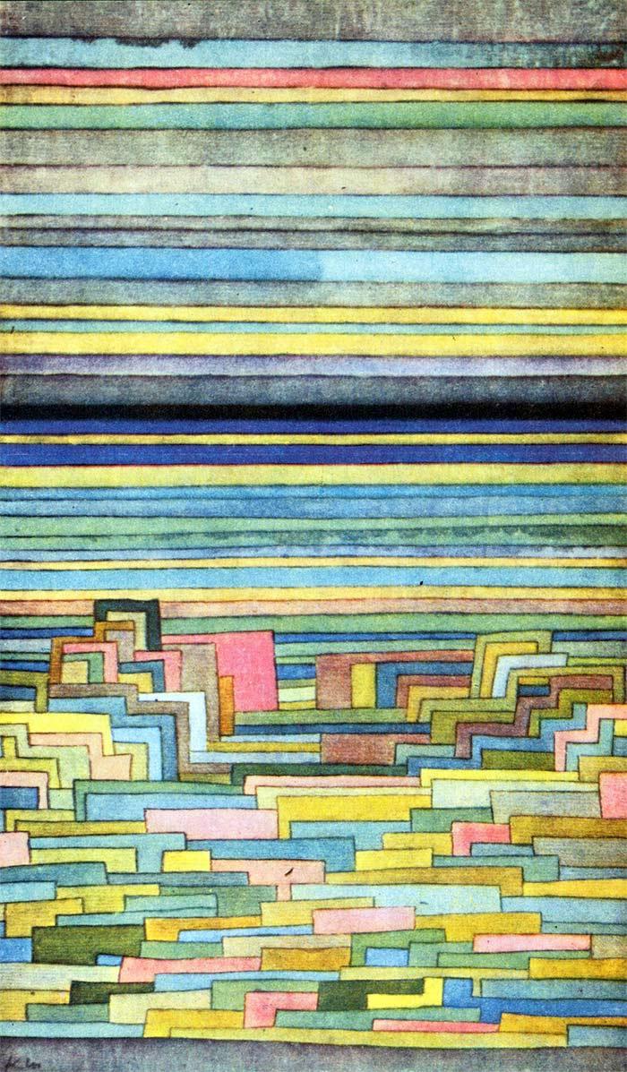 Paul Klee - Lagoon city