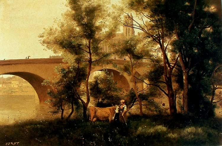 EL camino de Corot