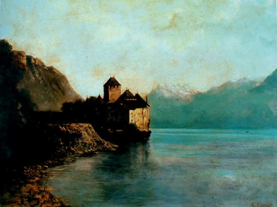Castillo de Chillon de Gustave Courbet