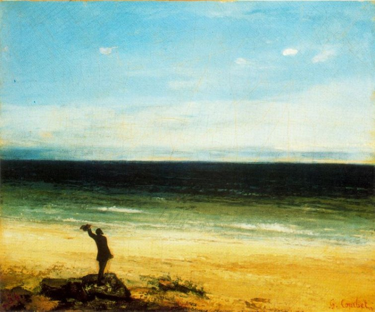 Mar de Gustave Courbet