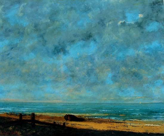 El mar de Gustave Coubet