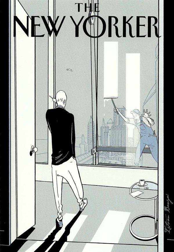 New Yorker,  ilustración de Istvan Banyai