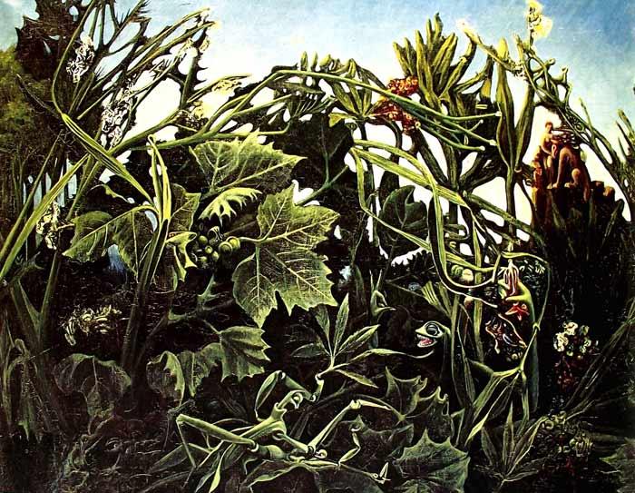 La alegría de vivir de Max Ernst