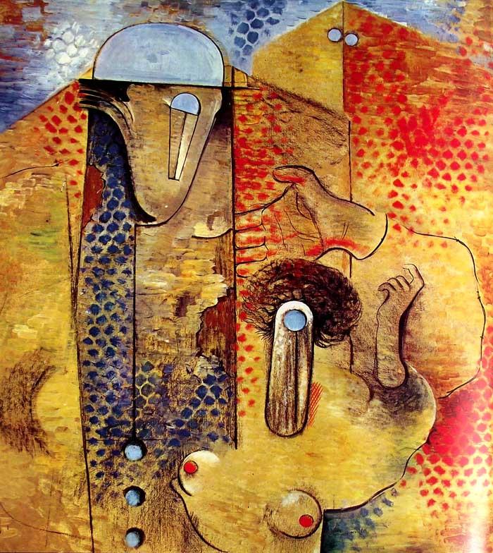 Grandes Enoamorados de Max Ernst