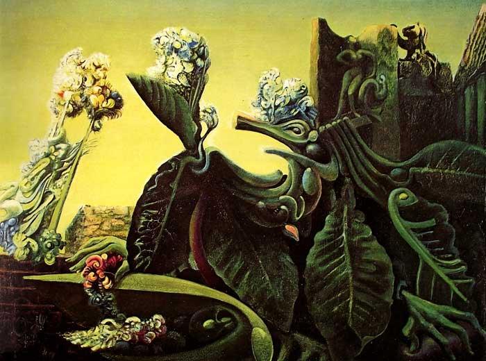 La ninfa Eco de Max Ernst