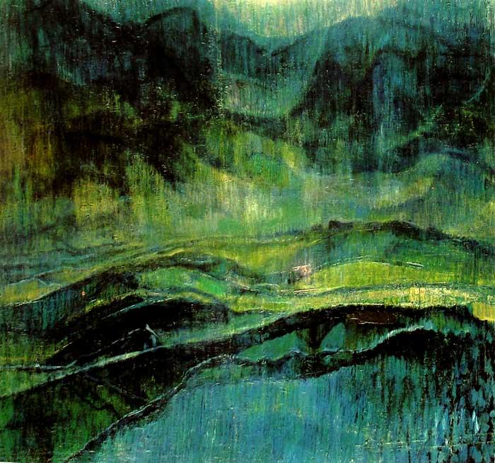 Dibujo con Frotado de Max Ernst
