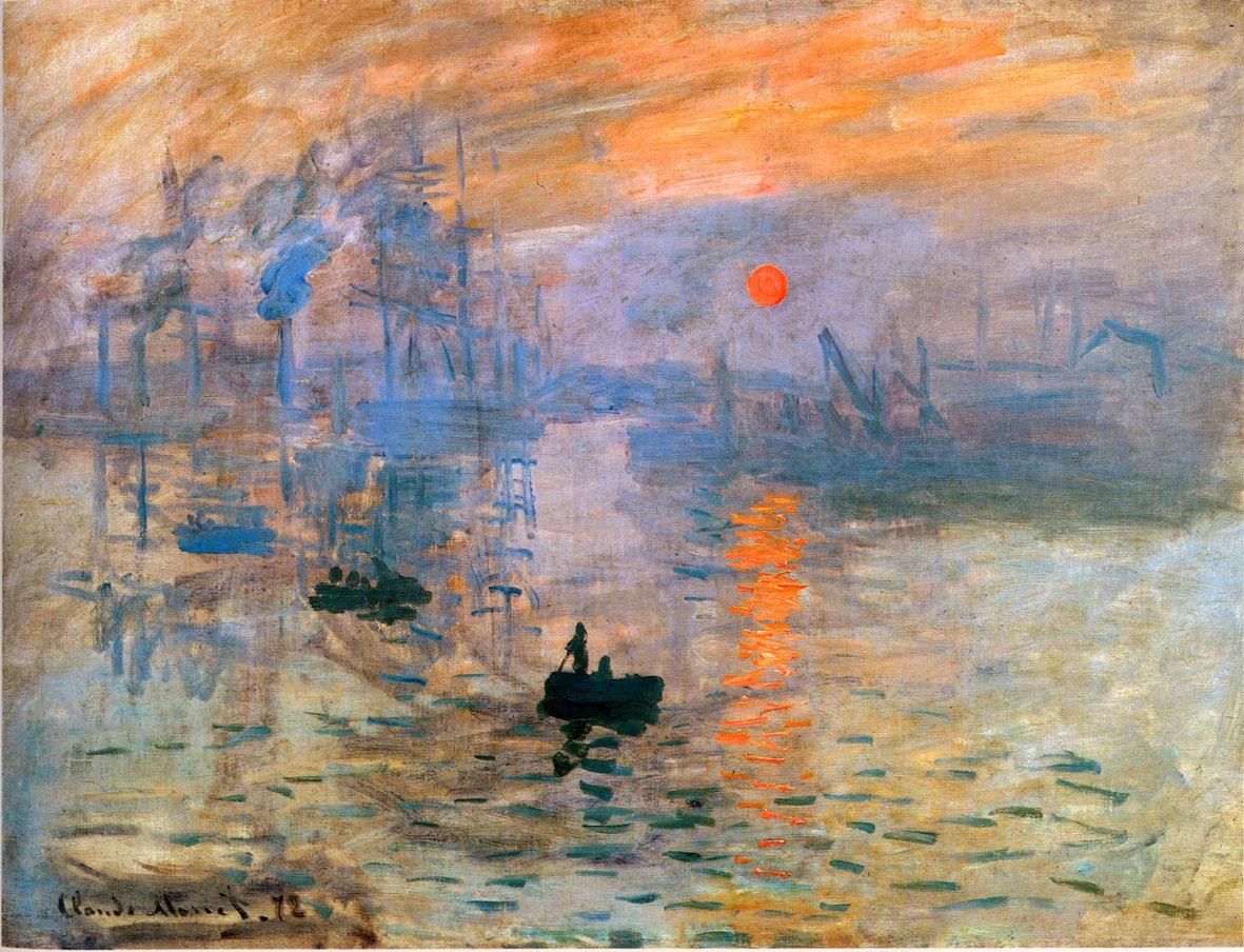 Amanecer de Monet