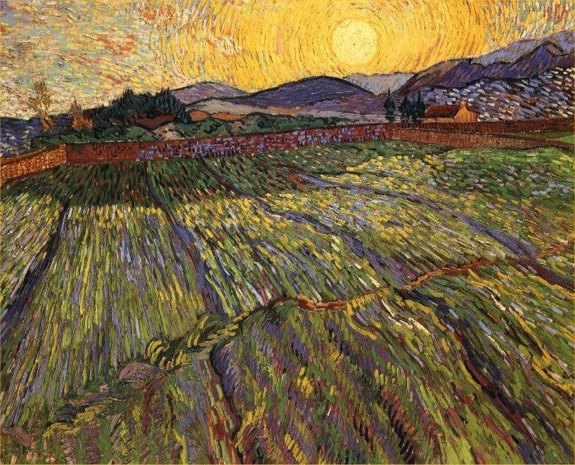 Amanecer de Van Gogh