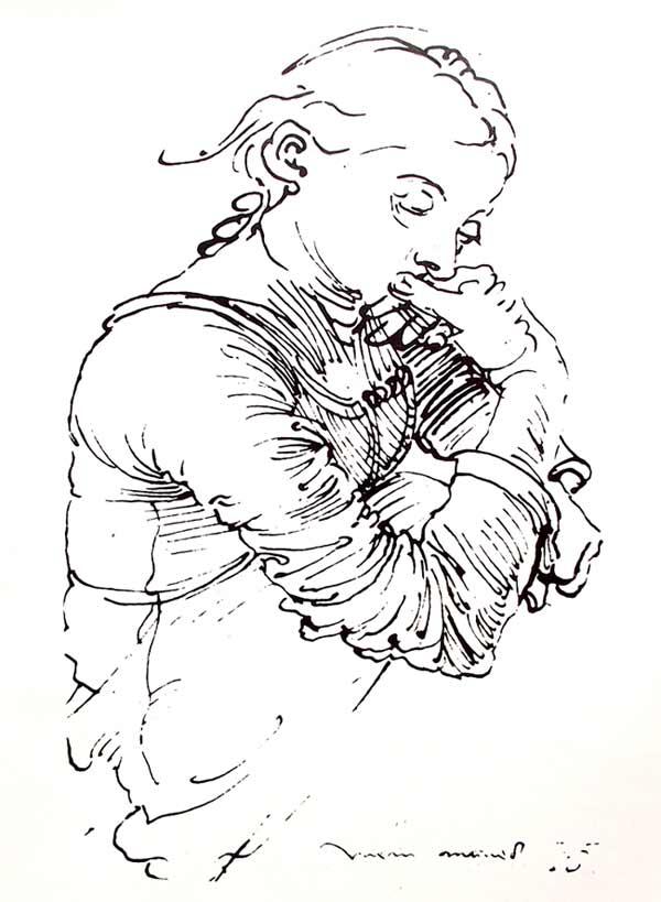 Dibujo de Durero